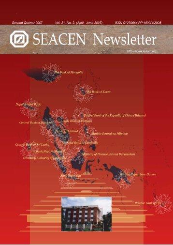news on monetary and financial developments - SEACEN