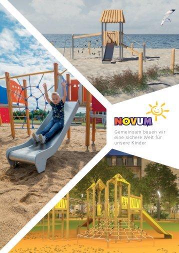 Spielplätze Geräte Novum 2020