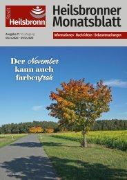 Monatsblatt Heilsbronn - November 2020