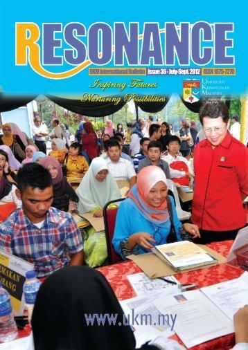Resonance issue 36 Jul - Sept - UKM