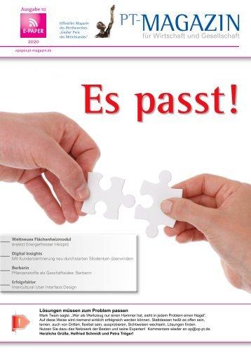 E-Paper 10 Es passt