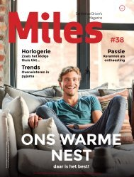 Miles #38 - ONS WARME NEST