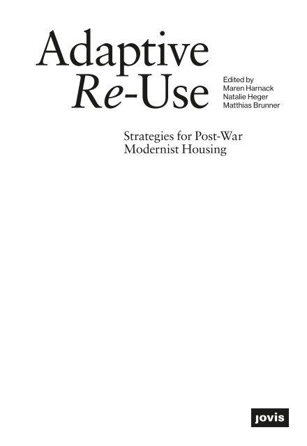 Adaptive Re-Use