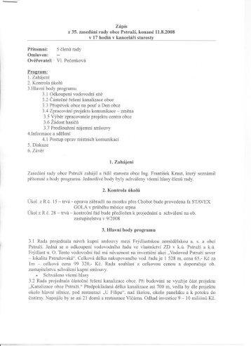 Zapis-R-2008-35.pdf - Obec Pstruží