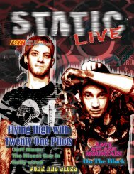 Static Live Magazine November 2020