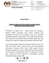 CEPAT DAN MESRA - Portal Rasmi Jabatan Bomba dan ...