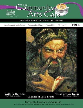 FREE - Community Arts Cafe