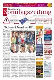 2020-11-08 Bayreuther Sonntagszeitung