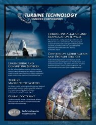 ENGiNEERiNG ANd CONSUltiNG SERvicES TURbiNE ... - PRWeb