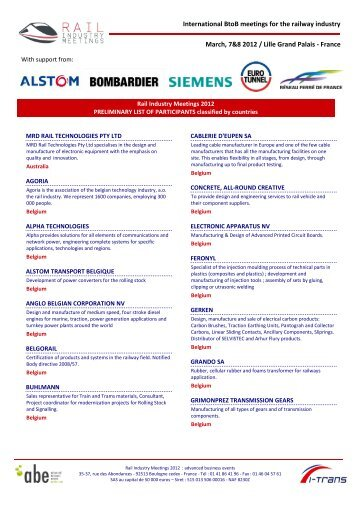 France - Advanced business events