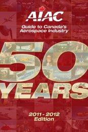 Member Profiles - Aerospace Industries Association of Canada