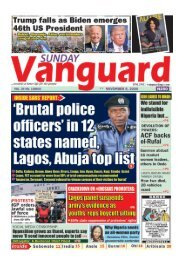 08112020 - Brutal police officers in 12 states named Lagos, Abuja top list