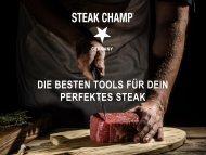 Sell Sheets - Präsentation Neue Steak Tools 2021