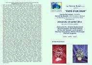Expo d'un Jour - 2011.07.10 - LES ARTISTES.cdr - Uccle