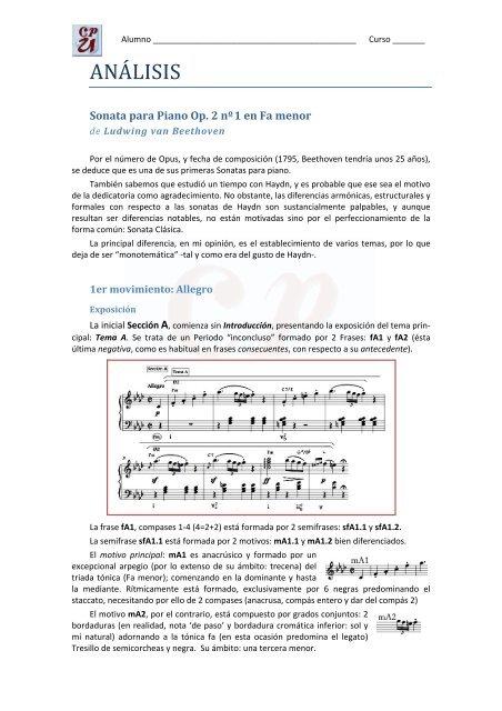 Sonata Op2 N1 Miguel Angel Mateu