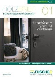 01/2020 Tischler- und Schreiner News