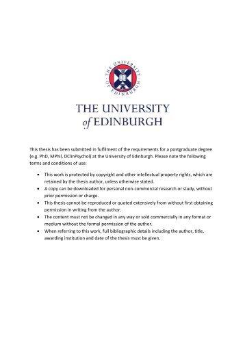 BY4741 - Edinburgh Research Archive - University of Edinburgh