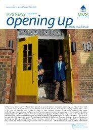Maida Vale School November Newsletter