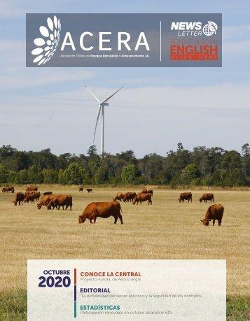 Newsletter ACERA - Octubre 2020