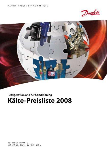 3S Thermostatisch Expansionsventil Ventilgehäuse Typ TZ2 Danfoss R407C R407