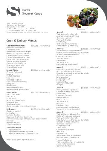 army 21-day conops menu - for the military cook, chef, and, Powerpoint templates