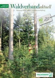 Waldverband Aktuell - Ausgabe 2020-04