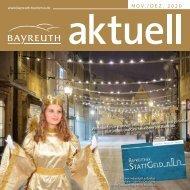 Bayreuth Aktuell - Weihnachtliches Bayreuth - November-Dezember 2020