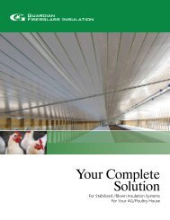 Ag/Poultry Solutions Brochure - Guardian Building Products