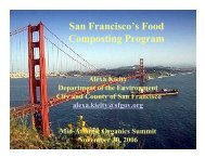 San Francisco's Food Composting Program