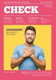 CHECK Magazin - Gesundheitsmagazin für Männer - Ausgabe #3