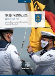 Marinekommando Jahresbericht 2020