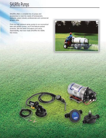 SHURflo Pumps - Hypro Pumps