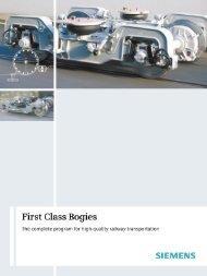 Motor and Trailer Bogies for Heavy Metro Vehicles - Siemens