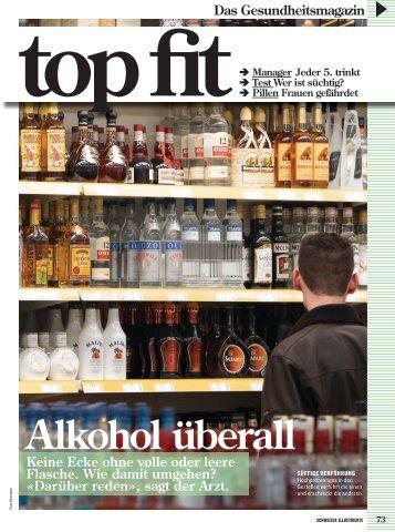 Schweizer Illustrierte, top fit, 7. Juli 2008 - Forel Klinik
