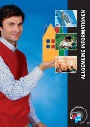 ALLGEMEINE INFORMATIONEN - Mein Passivhaus