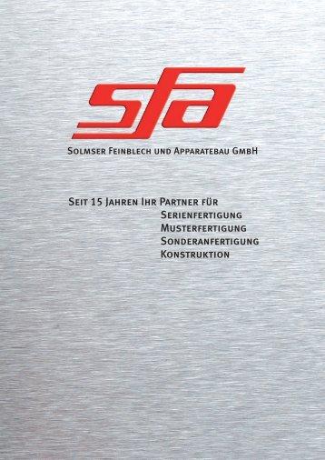 Solmser Feinblech und Apparatebau GmbH, Gewerbepark 10 ...