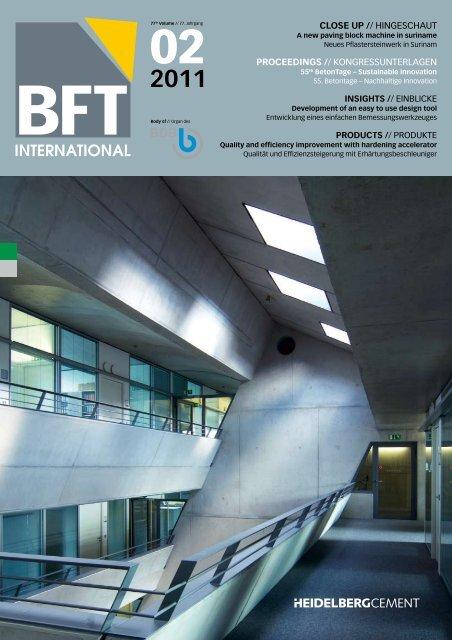 Tagungsband - BFT International