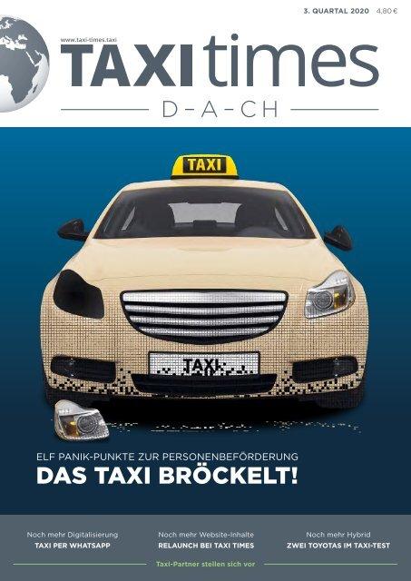 Taxi Times DACH - 3. Quartal 2020