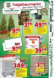 bbk hagebaumarkt und Floraland | KW 46