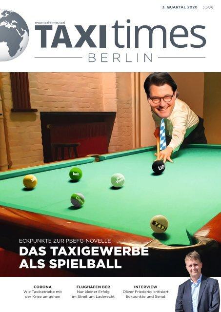 Taxi Times Berlin - 3. Quartal 2020
