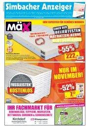 Simbacher Anzeiger 15.11.2020