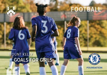 Mount Kelly Girls' Performance Football Prospectus