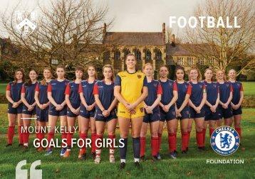Mount Kelly Girls' Performance Football Prospectus