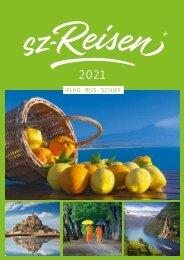 Der sz-reisen Katalog 2021