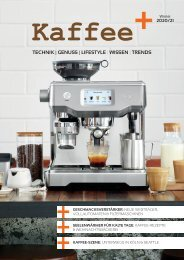 Kaffee+ Winter 2020/21 Kaffeemagazin