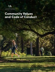 Community Values and Code of Conduct