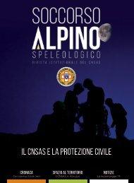 La rivista istituzionale del Soccorso Alpino e Speleologico - n. 76, novembre 2020