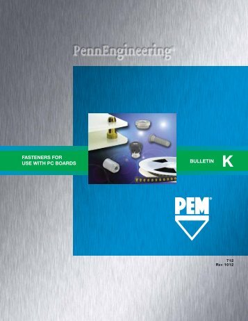 FASTeNeRS FOR USe WITH PC BOARDS ... - PennEngineering