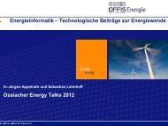 """""""green IT"""" Unterstützung energieintensiver Prozesse mit IKT"""