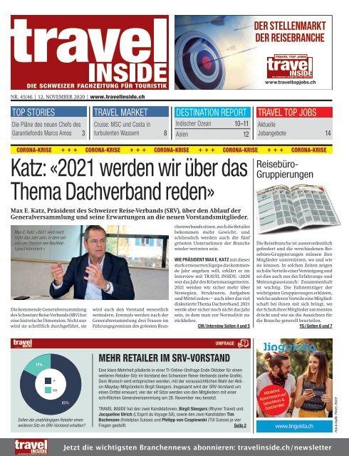 TRAVEL INSIDE 2020-460